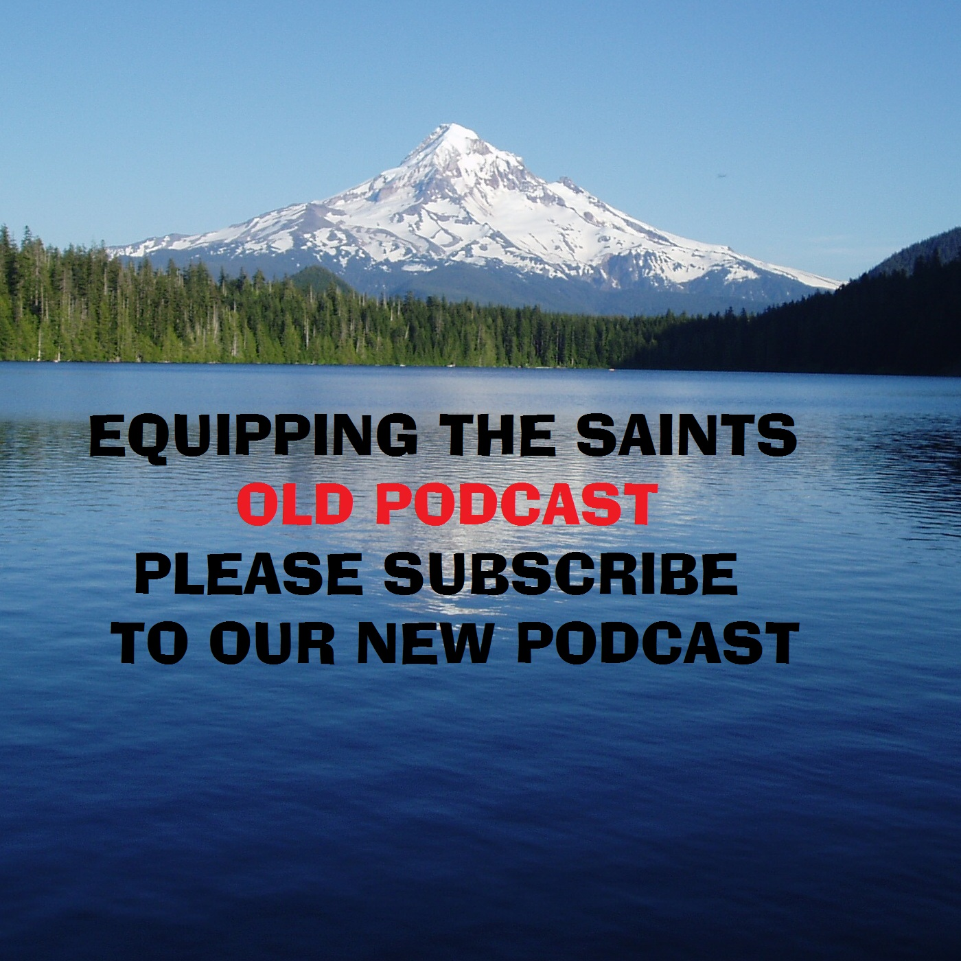 Equipping the Saints OLD PODCAST - PLEASE SUBSCRIBE TO OUR NEW PODCAST